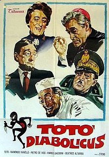 poster Toto Diabolicus (1962)