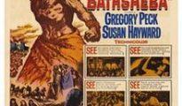 poster David and Bathsheba (1951)