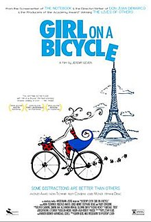 poster Girl on a Bicycle (2013)