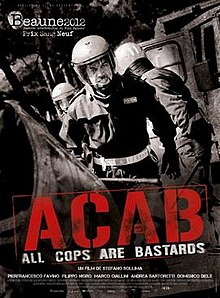 poster A.C.A.B. All Cops Are Bastards (2012)