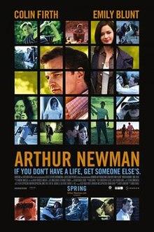 poster Arthur Newman (2012)