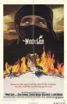 poster The Wind and the Lion (1975)
