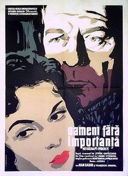 poster Des gens sans importance (1956)