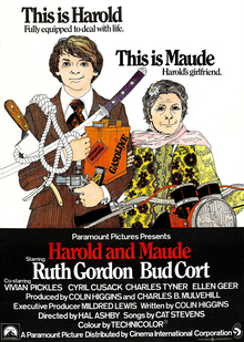 poster Harold and Maude (1971)