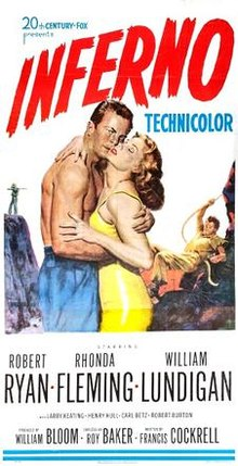 poster Inferno (1953)