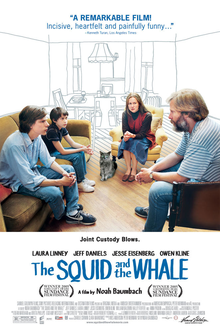 poster The Squid and the Whale (2005)