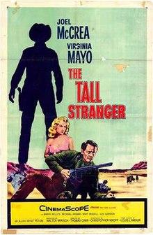poster The Tall Stranger (1957)