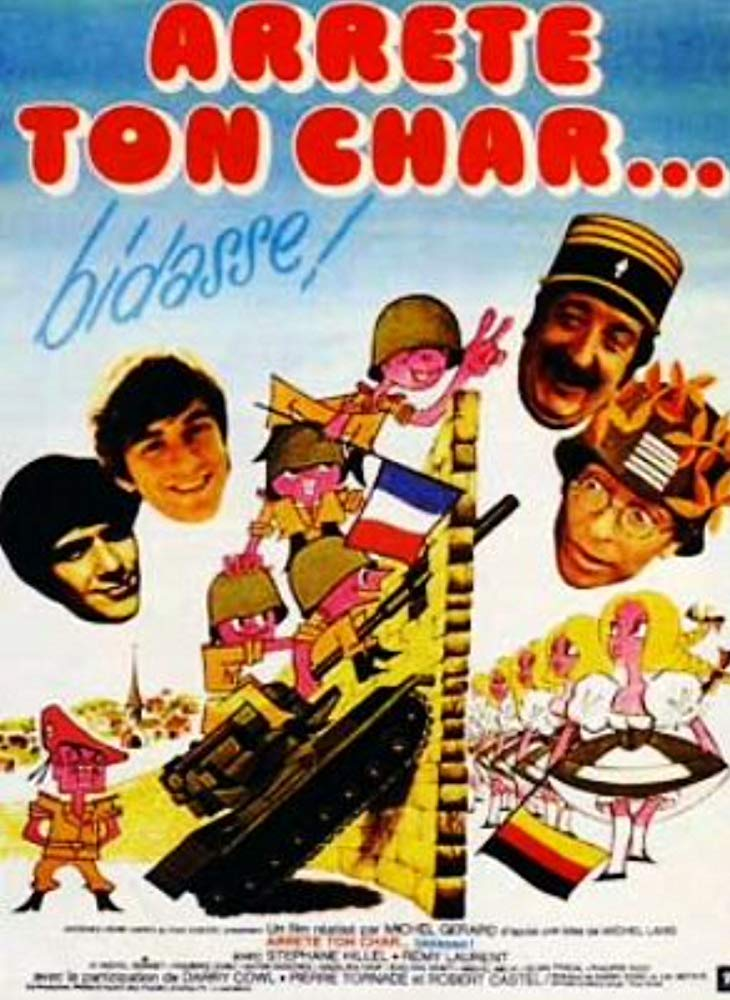 poster Arrête ton char... bidasse! (1977)