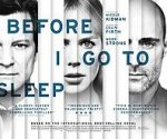 poster Before I Go to Sleep (2014)