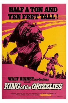 poster King of the Grizzlies (1970)
