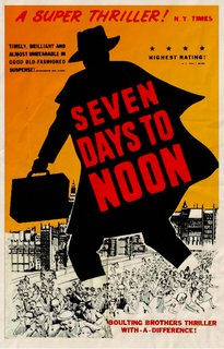poster Seven Days to Noon (1950)