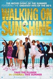 poster Walking on Sunshine (2014)