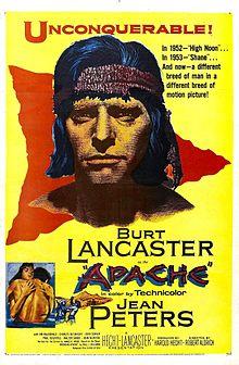 poster Apache (1954)