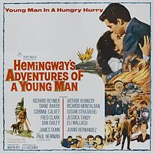 poster Hemingway's Adventures of a Young Man (1962)