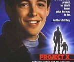 poster Project X (1987)