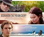 poster Summer in February (2013)