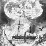 Coperta primei ediţii a romanului Copiii capitanului Grant