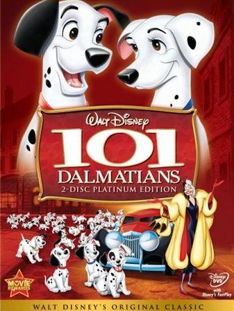 poster 101 dalmatieni - desene animate - walt disney - vedeti aici filmul