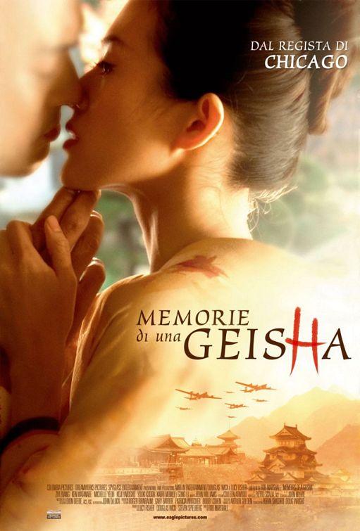 poster film Memoirs of a Geisha - Memoriile unei Gheise 2005