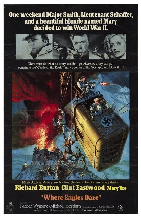 poster Where Eagles Dare