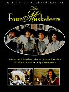 poster cei patru muschetari