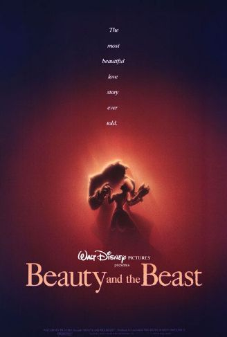 poster desene animate disney Beauty and the Beast - Frumoasa şi bestia 1991