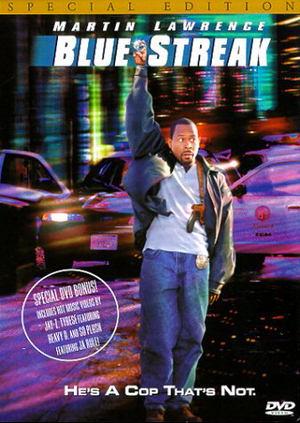 poster film Blue Streak - Detectiv de voie de nevoie 1999