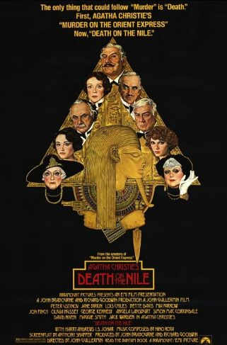 poster film Death on the Nile - Moarte pe Nil - 1978