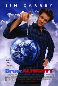 poster film Dumnezeu pentru o zi - Bruce Almighty