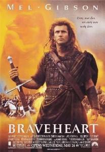 poster film Inima neinfricata - Braveheart