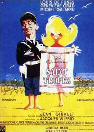 poster film Le Gendarme de St. Tropez - Jandarmul din Saint Tropez (1964)