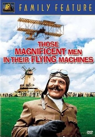 poster film Those Magnificent Men in their Flying Machines
