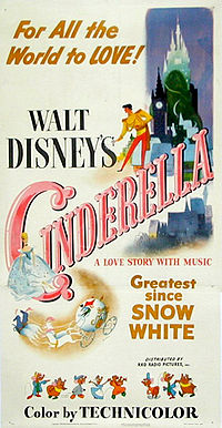 poster film cenusareasa disney