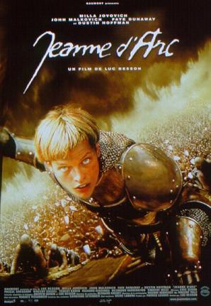 poster film ioana d'arc - The Messenger - The Story of Joan of Arc - magazinweb