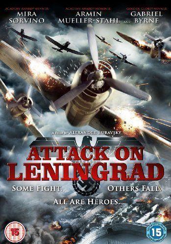 poster film leningrad - attack on leningrad