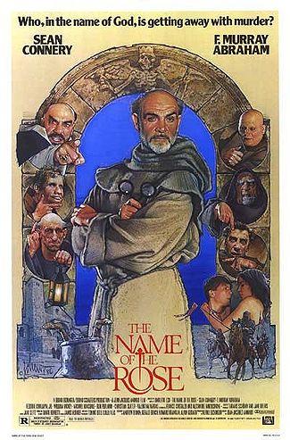 poster film numele trandafirului - name of rose