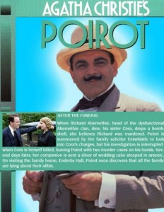 poster film poirot dupa inmormantare - after the funeral
