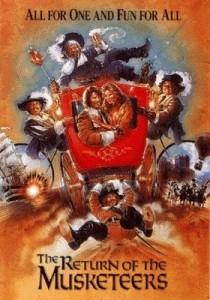 poster intoarcerea muschetarilor