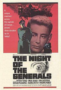 poster noaptea generalilor