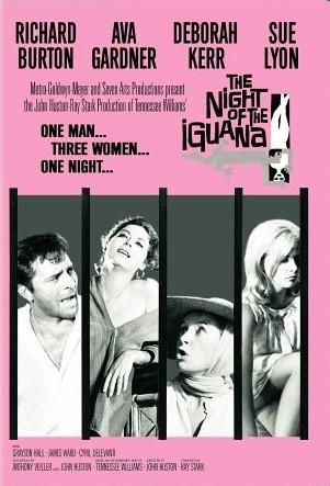 poster noaptea iguanei
