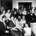 rasputin in casa din  Sankt-Petersburg